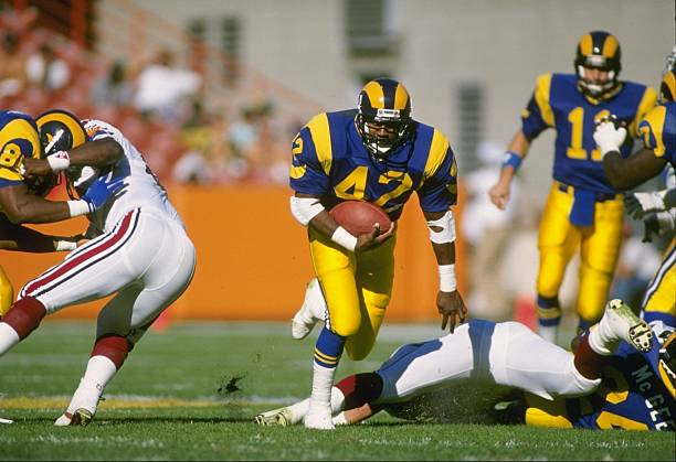 80bdfb6a Rams Flashback Spotlight: RB Greg Bell, Notre Dame – Downtown Rams